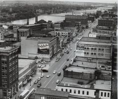 Only a few buildings still standing today on Lowers Monroe.