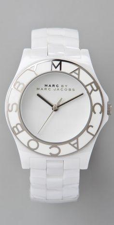 Marc Jacobs Ceramic Blade Watch