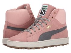PUMA The Suede Winterized Rugged (Coral Cloud Pink/Steel Gray) for $30 http://sylsdeals.com/puma-suede-winterized-rugged-coral-cloud-pinksteel-gray-30/