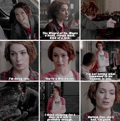 [gifset] 10x11 There's No Place Like Home #SPN #CharlieBradbury