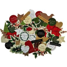 Home For Christmas Collectables Cardstock Die-Cuts-