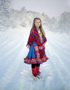 Erica Larson, The Sami  (artic indigenous people inhabiting sweden, norway, finland)