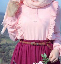 Pink & baby pink