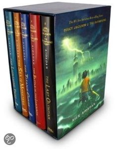 Percy Jackson & The Olympians Boxed Set Please read this awesome series. Best books I have ever read. They really shaped me.