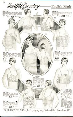 Fashioning The Past: The Changing Silhouette: 1920s Undergarments