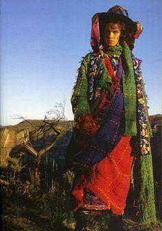 1980s Australian fashion - Jenny Kee  by ✎☁Iron Lace☁✎, via Flickr