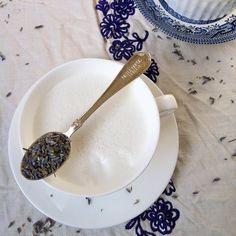 Lavender Milk Steamer | Teaspoonofspice.com