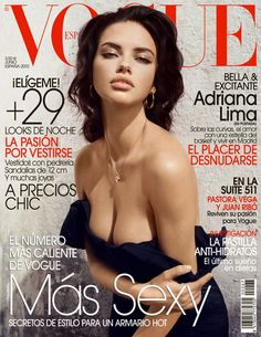 Magazine photos featuring Adriana Lima on the cover. Adriana Lima magazine cover photos, back issues and newstand editions. Vogue Cover, Vogue Magazine Covers, Fashion Magazine Cover, Fashion Cover, Magazin Covers, Mona Lisa Parody, Vogue Models, Modelos Fashion, Isabeli Fontana