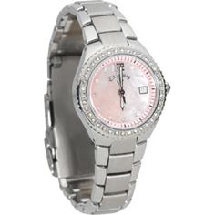 The time is now....Callaway Watch with Pink Dial Face.  LOVE!