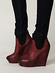 Cri Platform Boot Free People $190.00 Someday I will both have the extra cash to buy expensive shoes and also someplace to wear them on a regular basis.