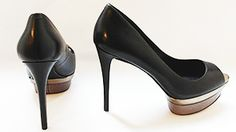 Brian Atwood black pumps are a Katie must!