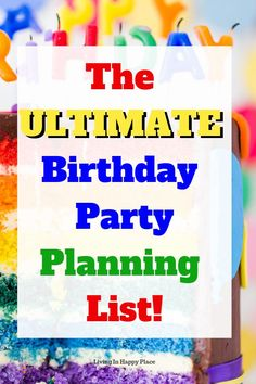 Plan the perfect birthday party with this list of 25 birthday party ideas and locations to help mom plan the best party ever! Birthday Party Locations, 25th Birthday Parties, Elmo Birthday, Birthday Party Themes, Birthday Ideas, Free Birthday, Themed Parties, Happy Birthday, Happy Mom