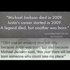 It is true. No one can ever take Michael's place, but Austin sure is heck doing an AMAZING job. I am so unbelievably proud. ;,,)