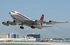 John Travolta also owns a modified Boeing passenger aircraft Boeing 707, Boeing Aircraft, Passenger Aircraft, Der Bus, John Travolta, Civil Aviation, Commercial Aircraft, Aircraft Pictures, Private Jet
