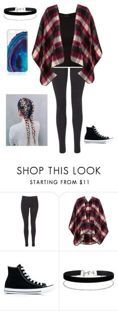 """""""Untitled #416"""" by savannah-turner ❤ liked on Polyvore featuring Maison Scotch, Topshop, Converse and Miss Selfridge"""
