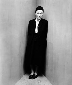 """Georgia O'Keeffe from """"corner portraits"""", by Irving Penn"""