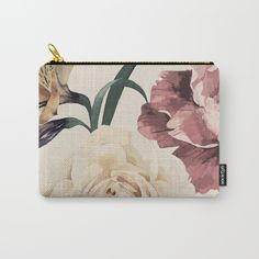 Summer Flowers VII Carry-All Pouch by Kamina22 | Society6