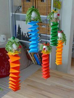 bastelideen karneval basteln mit kindern