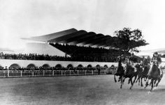 Eduardo Torroja. Hipódromo de la Zarzuela. Madrid. 1935.