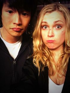 Christopher Larkin & Eliza Taylor #The100