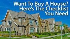 Want To Buy A House? Here's A Checklist You Need To Have