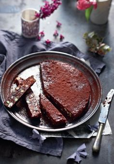 Almond chocolate torte (photo by Brett Stevens)