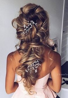 150bb5f8de Ulyana Aster Wedding Hairstyles Inspiration