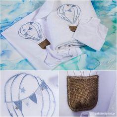 Λαδόπανο Βάπτισης Αερόστατο   Lina Baby 1380