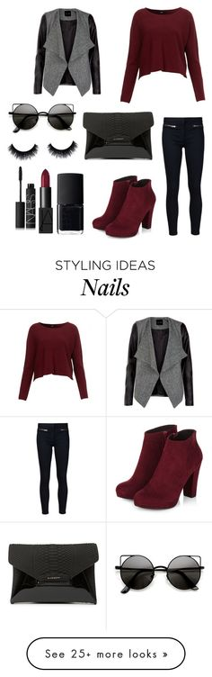 """Don't talk"" by amendietta on Polyvore featuring Veronica Beard, Givenchy and NARS Cosmetics"