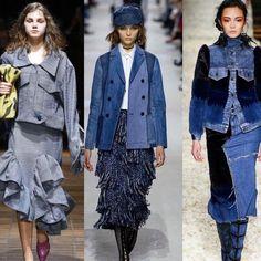 """La experta en Tendencias de Jeanswear @adrygomez70 hará un especial en exclusiva para nosotros sobre el Denim 2018. No te lo pierdas este LUNES #tendencia2018 #fashiontrends #denim #denimtrend #jeanswear #ss2018 #Repost @adrygomez70 with @get_repost・・・""""Denim Jacket"""" siluetas desestructuradas, tipo blazer o la trucker con apliques en velvet.. 💙El mundo del denim continua evolucionando las siluetas tradicionales. #adrytrends #denimgirl #Denim #fashionlover #direccioncreativademoda #womanstyle Denim, Trends 2018, You Lost Me, Mondays, Silhouettes, Appliques, Jackets, Jeans"""