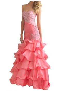 Gorgeous Bridal Organza Evening Dresses Prom Gowns Long With Pleats- US Size 2 Pink Gorgeous Bridal http://www.amazon.com/dp/B00FJ071YO/ref=cm_sw_r_pi_dp_ANgZtb11QWENE9XZ