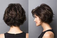 Tips to give volume to fine hair Hair Beauty Facing the sea - Hair Cutting Style Double Chin Hairstyles, Short Hairstyles For Thick Hair, Haircut For Thick Hair, Short Wavy Hair, Short Hair With Layers, Hairstyles For Round Faces, Curly Hair Styles, Thin Hair, Wavy Hairstyles