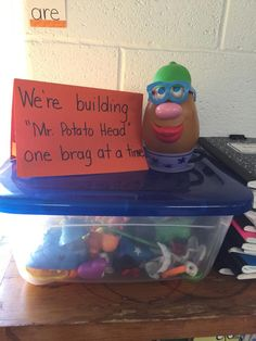 Mr Potato Head Compliment Game