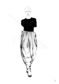 Fashion illustration // Spiros Halaris