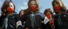 Terrifying Girls High School: Lynch Law Classroom (1973) dir. by Norifumi Suzuki.