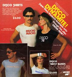 Village People Disco Dynamite — Super Disco Products 1978
