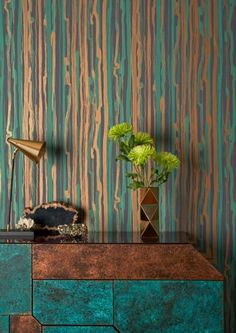 Strand Wallpaper by Cole & Son - Curio Collection - Lime Lace £79.95 #cole&son #contemporary #strand #wallpaper