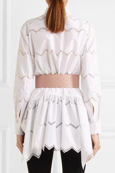 Alaïa - Arabesque Studded Leather Waist Belt - Blush -