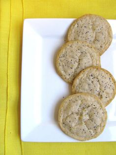 Mary Quite Contrary Bakes: Lemon Poppy Seed Cookies