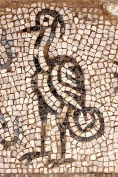 Roman mosaic. Andalusia, Spain.