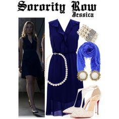 Sorority Row #SororityRow #LeahPipes #JessicaPierson Sorority Row, Chan Luu, Dresses For Work, Formal Dresses, Christian Louboutin, Luxury Fashion, Runway, Kendra Scott, Polyvore