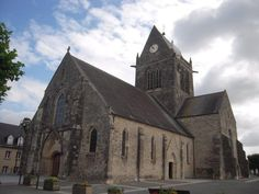 Saint Mere Eglise Normandy France