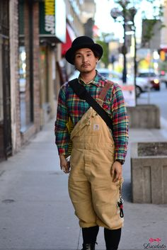 Street Style... I love how Japanese men are not afraid to show some personalities in their styles.    lucidato.tumblr.com