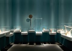 """The Pergamon Museum's temporary exhibition """"Jenseits des Horizonts"""" (Beyond the Horizon) deals with diverse questions about the knowledge of space in antique cultures."""