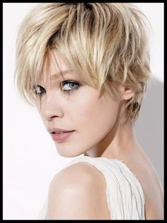 Short Hairstyles for Round Faces-04 | Hairstyles, Easy Hairstyles For Girls