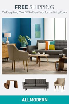 Sign up on AllModern and find everything for your living room.Visit AllModern today to explore our selection and for exclusive access to deals for your modern home. Free shipping on orders over $49!