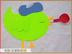 Cutest little bird craft that I ever did see...Whose Got Spring Fever? I do!