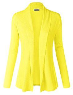BIADANI Women Classic Soft Long Sleeve Ribbed Collar Open... https://www.amazon.com/dp/B01A5Y7BJ8/ref=cm_sw_r_pi_dp_x_MGW7xbST6KFFC