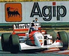McLaren MP4/9 Peugeot V10 (G) Philippe Alliot