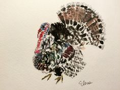 Have Watercolors Will Travel: Almost Turkey Day